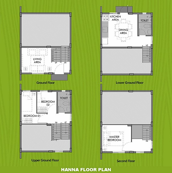 Hanna Floor Plan House and Lot in Sagay