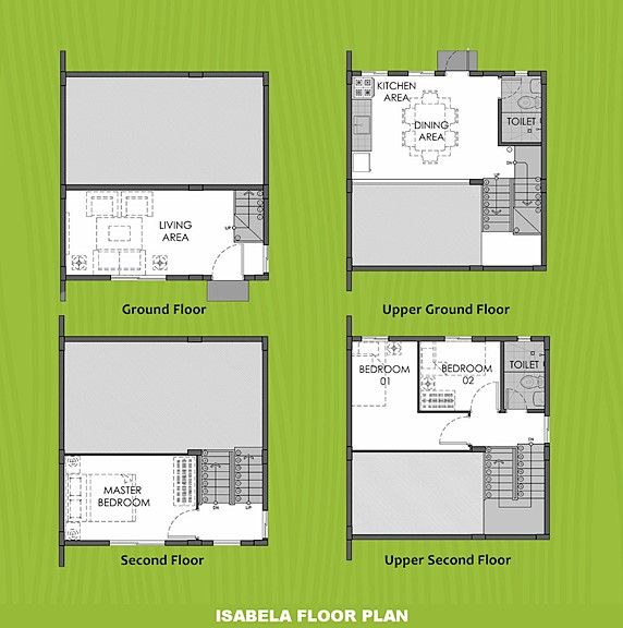 Isabela Floor Plan House and Lot in Sagay