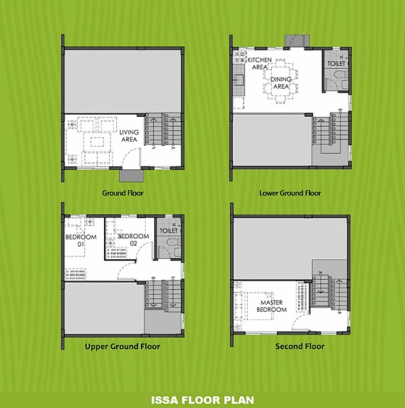 Issa Floor Plan House and Lot in Sagay